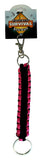 Survival Parachute Paracord Keychain Pack of 2 Assorted Colors