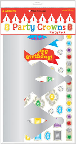 Mrs Grossman's Stickers - Party Crowns Kit - Pack of 3