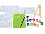 Children's Paint by Numbers Gift Set
