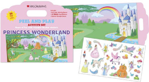 Mrs Grossman's Stickers - Princess Wonderland Peel & Play Activity Set