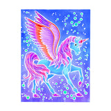 Aquarellum - Pegasus Greek Mythical Creature - Watercolor Paint Set