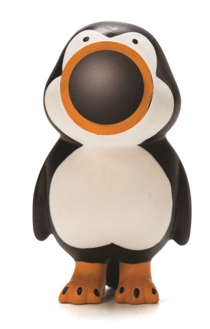 Keychain Penguin Popper - Squeeze to Shoot!