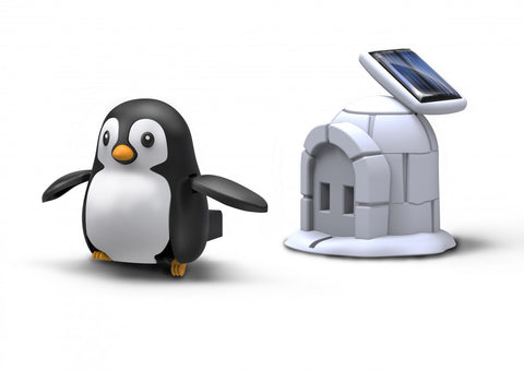 OWI RobotiKits Penguin Life - Plug In Solar Rechargeable Kit