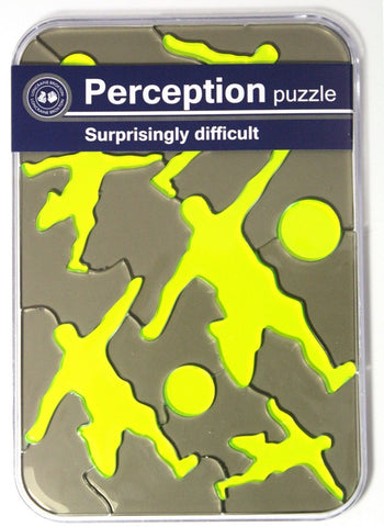 Soccer Ball Mind Teaser Perception Puzzle by Loncraine Broxton