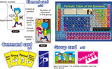 Periodic Table Card Game and Study Guide By Artec