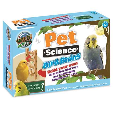 Interactive Pet Science Bird Brains Kit by Wild Science