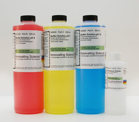 Buffer pH Calibration Classroom Kit