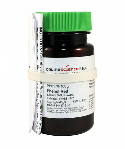 Phenol Red Powder, 100g - Chemical Reagent