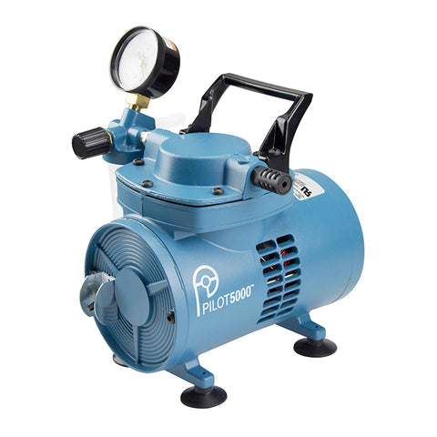 PILOT5000 Chemical Resistant Diaphragm Vacuum Pump 115V/60Hz