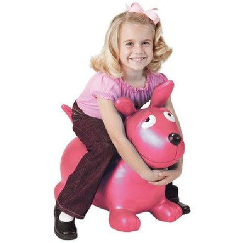 Pink Wahoo Inflatable Bouncy Toy from Marky Sparky