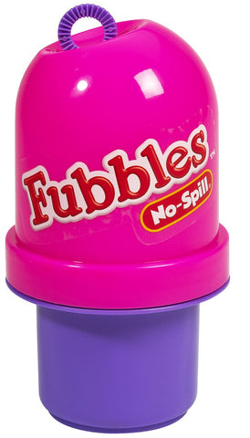 Fubbles No-Spill Bubble Tumbler Pink and Purple By Little Kids
