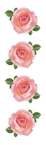 Mrs Grossman's Stickers - Pink Rose Photos