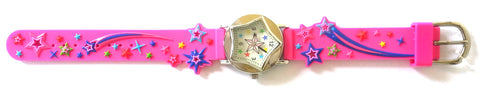 The Kids Watch Company Stars Watch One Size Pink Band