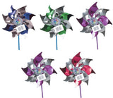 Pack Of 5 Pinwheels Wind Spinner Spinning Classic Toy