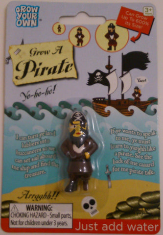 Grow Your Own Pirate: Collectible Magic Growing Thing
