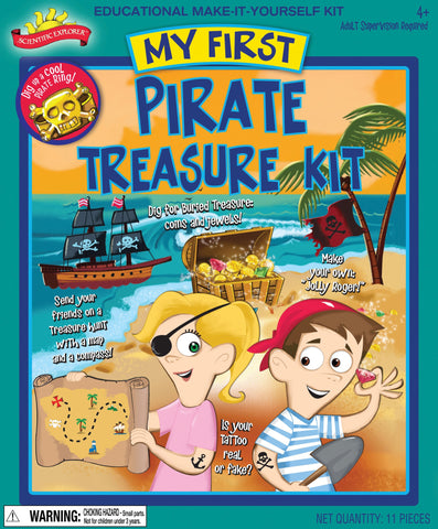 Scientific Explorer's My First Pirate Treasure Kit by Poof-Slinky
