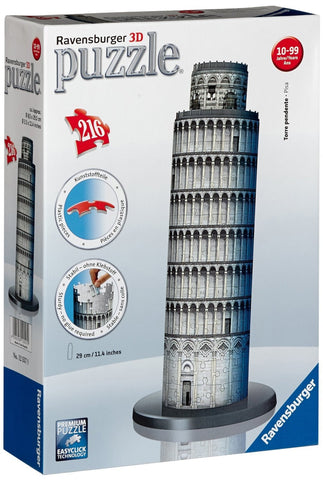 216 Piece 3D Leaning Tower of Pisa Puzzle