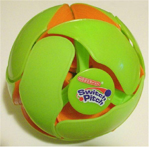 Switch Pitch Junior - 3 Inch Orange to Green Color Changing Ball