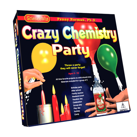 Science Wiz: Crazy Chemistry Group Party Activity Kit