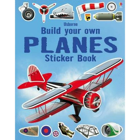 Usborne Build Your Own Planes Sticker Book-Airplane Activity