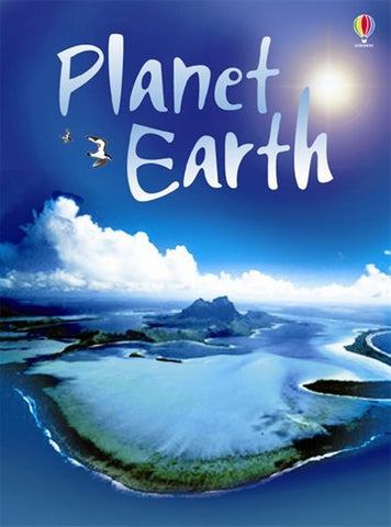 PLANET EARTH - Usborne Beginners Nature Series Ages 7+