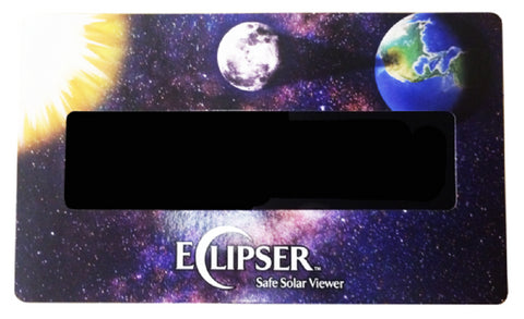 The Eclipser Safe Solar Viewers, CE Certified, Sun, Moon, Earth Frames - 5 Pack