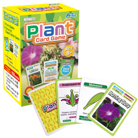 Plant Card Game Playing Cards By Artec