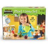 Plant and Grow Observation Set - 12 Piece Introductory Children Gardening Set