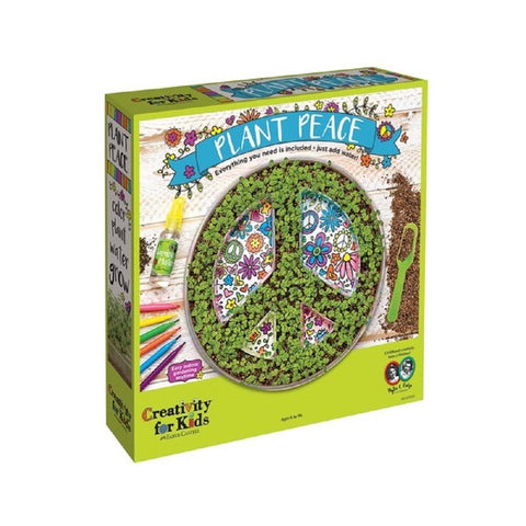Creativity for Kids - Plant Peace Growing Kit by Faber-Castell