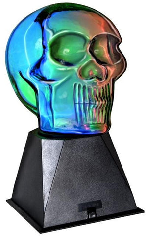 Skull Shaped Plasma Ball Lamp