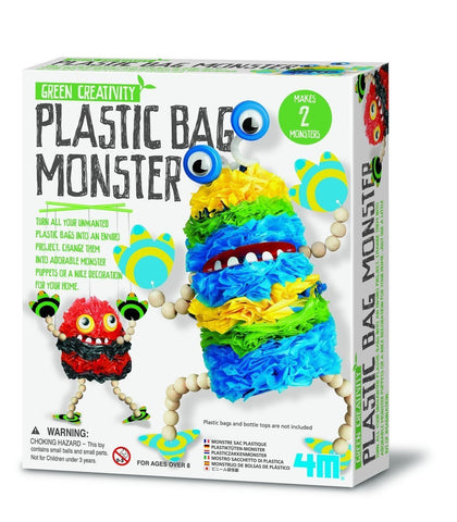 Plastic Bag Monster Green Science Activity Kit 4M