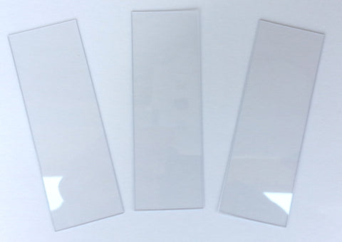 "1x3"" Plastic Microscope Slides - 5 Packs of 80"