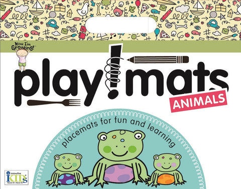Now I'm Growing! Playmats: Animals Activity Placemat by Innovative Kids