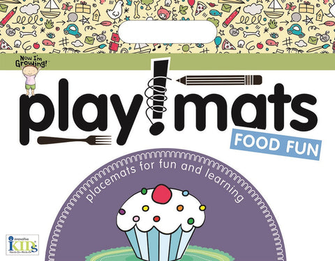 Now I'm Growing! Playmats: Food Fun Activity Placemat by Innovative Kids