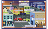 The Police & Safety - Activity Placemat by Tot Talk