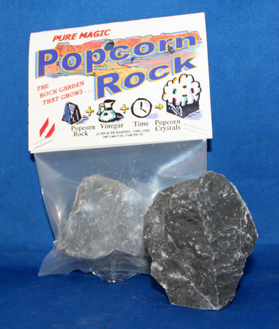 Popcorn Rock - Natural White Crystal Growing Rock