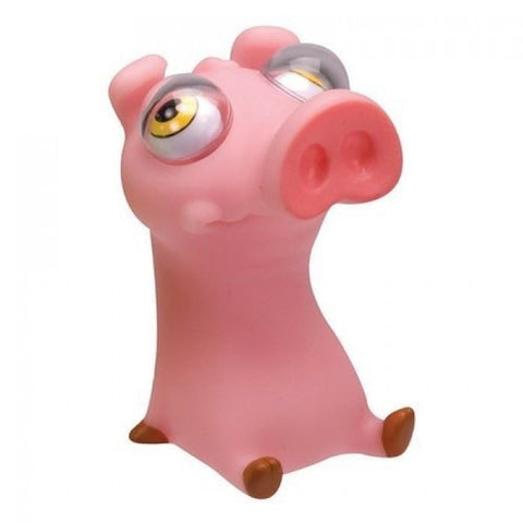 Poppin' Peeper Pig Stress Relief Squeeze Toy
