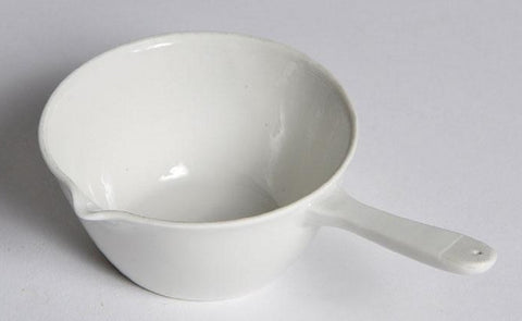 Porcelain Casserole with Lip & Handle - 80mL Capacity