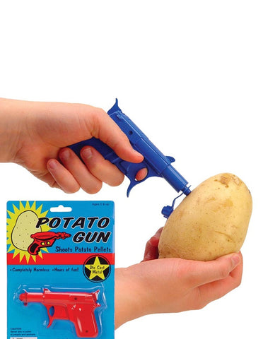 Potato Gun Classic Toy Die Cast Metal