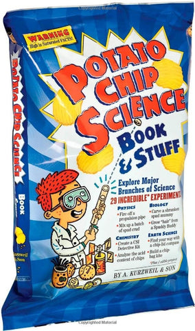 Potato Chip Science Book & Stuff- 29 Experiment Kit