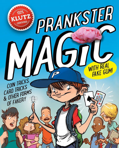 Prankster Magic Joke Activitiy Book by Klutz