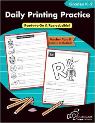 Daily Printing Practice - Grades K - 2