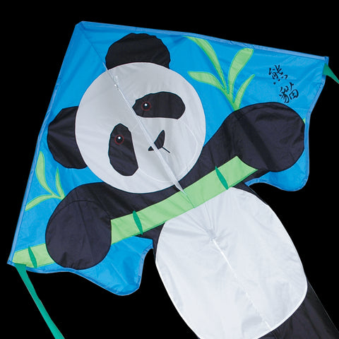 Large Panda Bear Easy Flyer Kite, 46x90 Inches