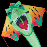 Large T-Rex Head Easy Flyer Kite, 46x90 Inches