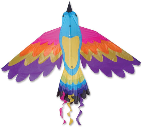 Large Paradise Bird Kite, 70x36 Inches