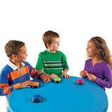Answer Buzzers Set of 4 Colorful Battery Powered Sounds
