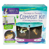 Nancy B's Science Club - Garbage to Gardens Compost Kit & Decomposition Book