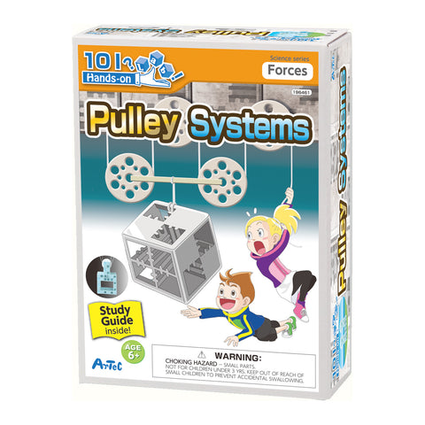 Pulley Systems Experiment Kit and Study Guide By Artec