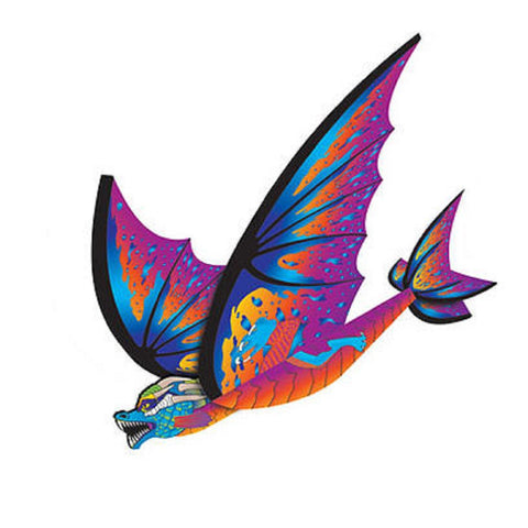 FlexWing 3D Purple Dragon Glider - 16 Inch Wide Nylon by X Kites