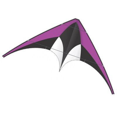 Purple X-Kite Nylon DC SPORT Stunt Kite - 5 Feet Wide - Dual Control